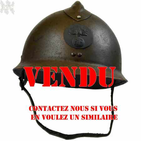 French Helmet Adrian M23 WWII Reproduction Liner