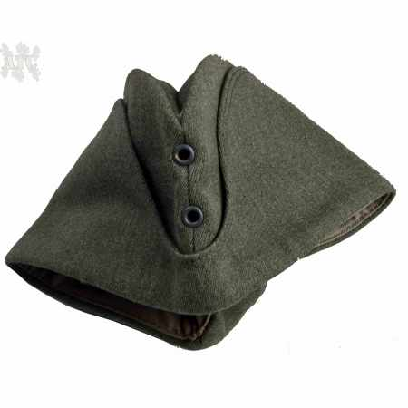 Calot Suédois laine M39 wool swedish sidecap permissionsmossa WW2 2 oeillets
