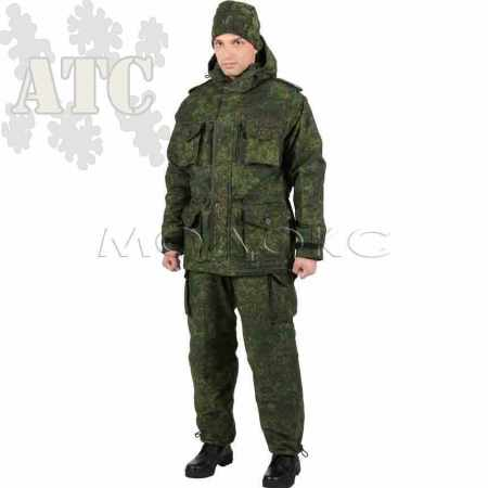 Uniforme Russe Grand Froid Rip Stop et Polaire Camo Digital Flora