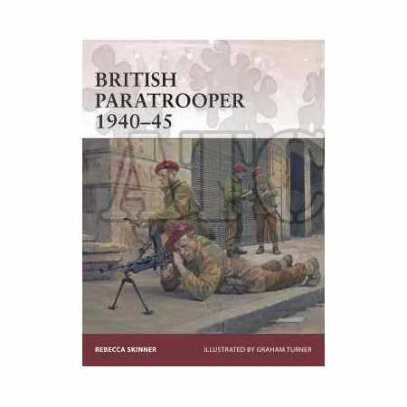 Brittish Paratrooper 1940-45 - Warrior N°174