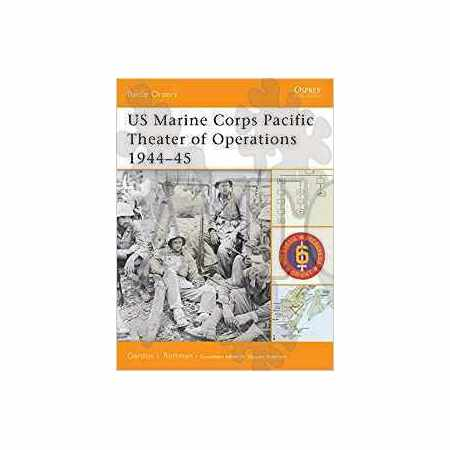 US Marine Corps Pacific Theater of Operations 1944–45 Battle Orders N°8