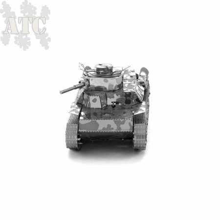 Type 97 Chi-Ha Tank 3D Metal Model Kit
