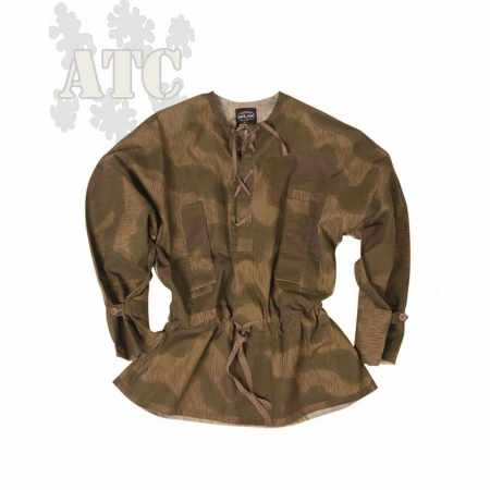 Blouse Tarnjacke de Sniper Allemand 2GM Camo Tan & Water Reproduction