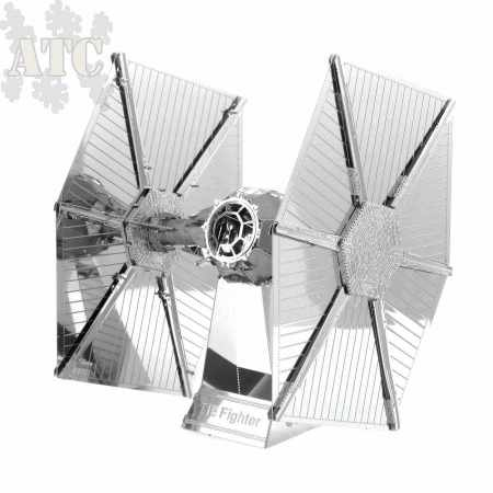 Maquette Métal 3D laser cut Star Wars Tie Fighter
