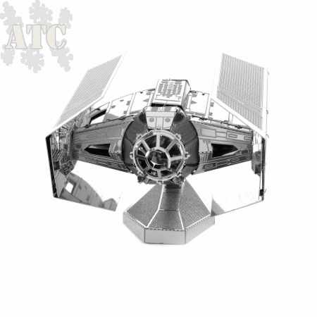 Maquette Métal 3D Laser Lut Star Wars Dark Vador Tie Fighter