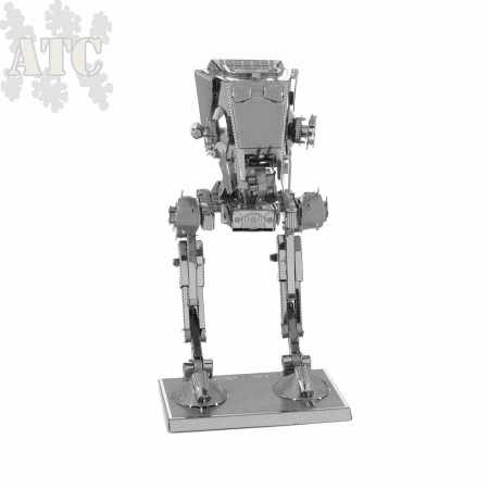 Maquette Métal 3D laser cut Star Wars AT-ST Chicken Walker