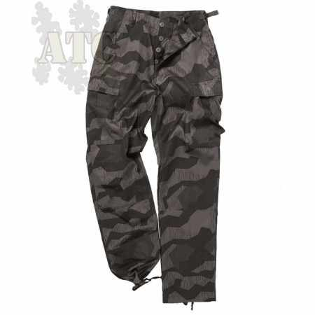 Pantalon Treillis BDU Style Ranger Camo Splinter Night