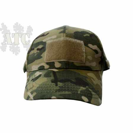 Casquette camouflage réglable type baseball avec welcro